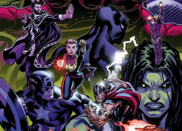 Гигантские Мстители против злых Целестиалов! Настолько огромными Халка иТора выеще невидели | Канобу - Изображение 9358