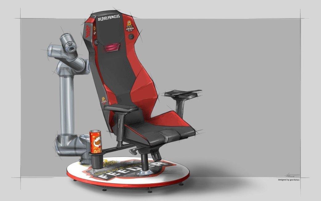 ВРоссии создали геймерское кресло, которое «спасает» игроков отголода | Канобу - Изображение 0