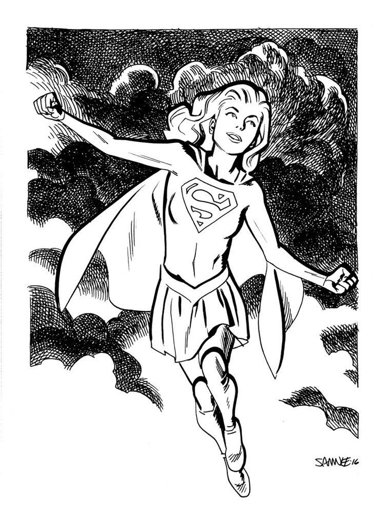 Супергерои Marvel и DC в рисунке Криса Сомни | Канобу - Изображение 8826