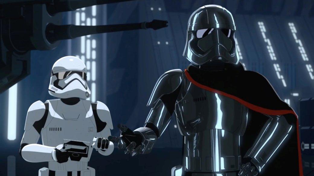 Первые впечатления отсериала «Звездные войны: Cопротивление». Почему Западу нестоит лезть ваниме | Канобу - Изображение 5994