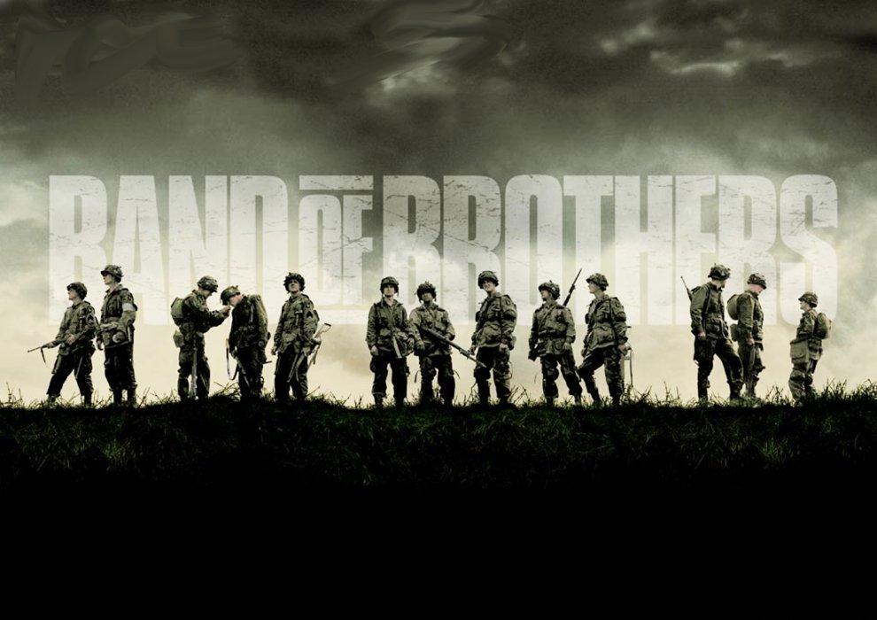 История сериалов: «Братья пооружию»   Канобу