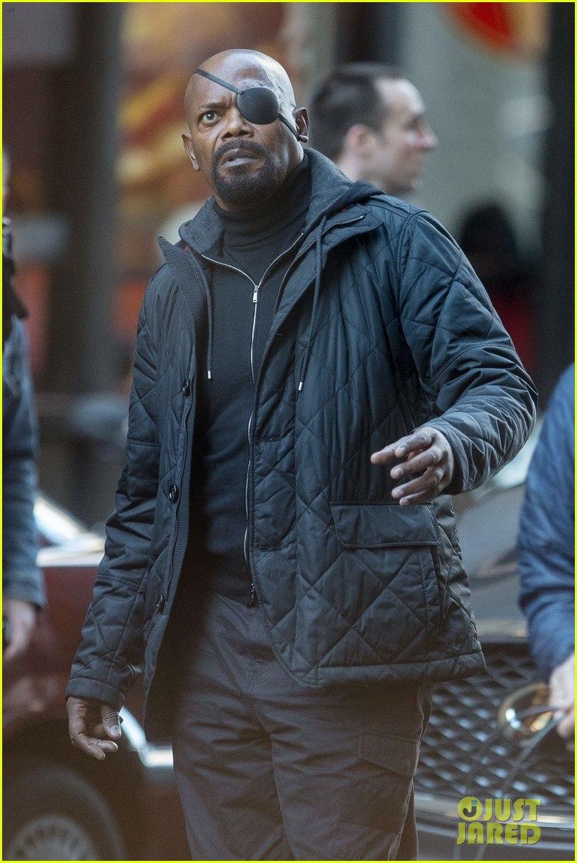 Ник Фьюри нановых кадрах сосъемок фильма киновселенной Marvel (ноникто незнает, какого именно). - Изображение 4