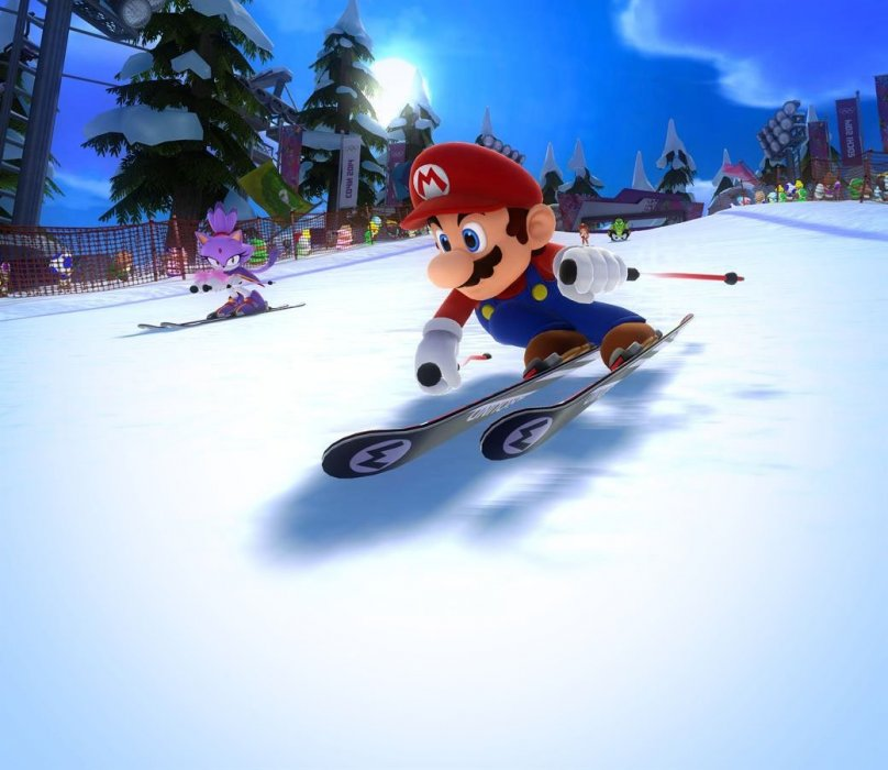 Обзор Mario & Sonic at the Sochi 2014 Olympic Winter Games - рецензия на игру Mario & Sonic at the Sochi 2014 Olympic Winter Games | Рецензии | Канобу