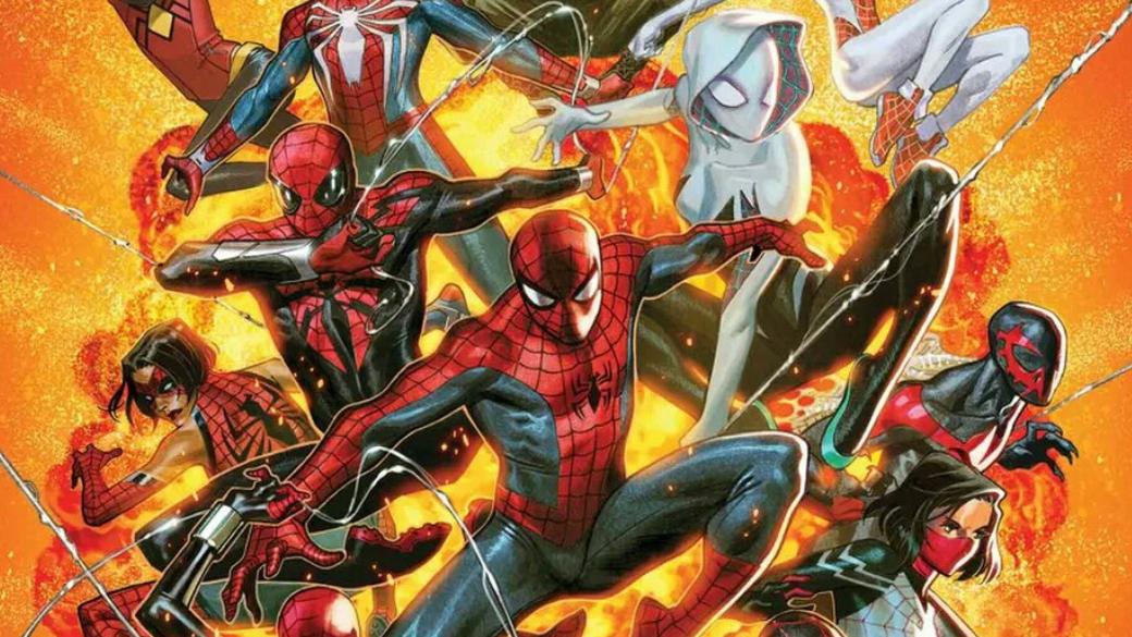 «Паукогеддон»— как Marvel снова столкнули десятки Людей-пауков изразных вселенных | Канобу