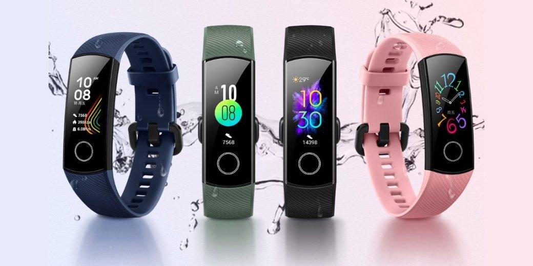 Honor Band 5: представлен новый фитнес-браслет с NFC и ценой $32   Канобу - Изображение 1