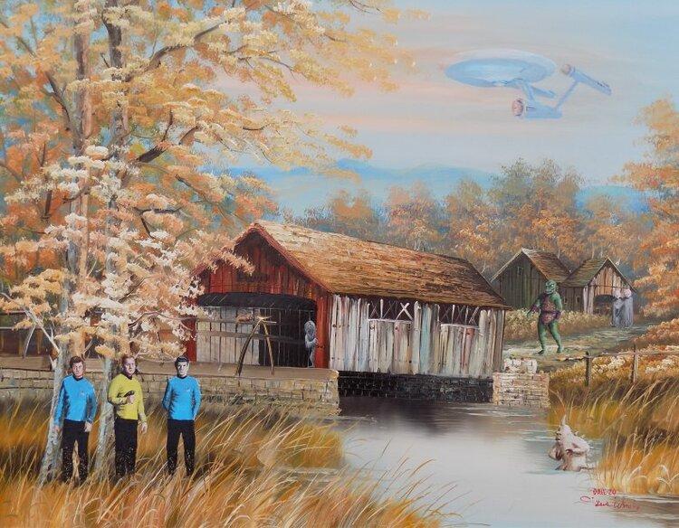 Художник добавляет элементы фантастических фильмов назаурядные пейзажи   Канобу - Изображение 4127