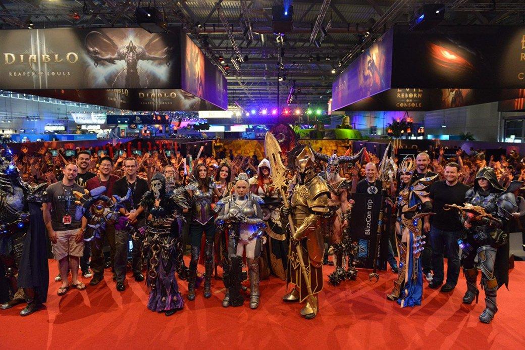 Лучшие костюмы со стенда Blizzard на Gamescom 2013 | Канобу - Изображение 1