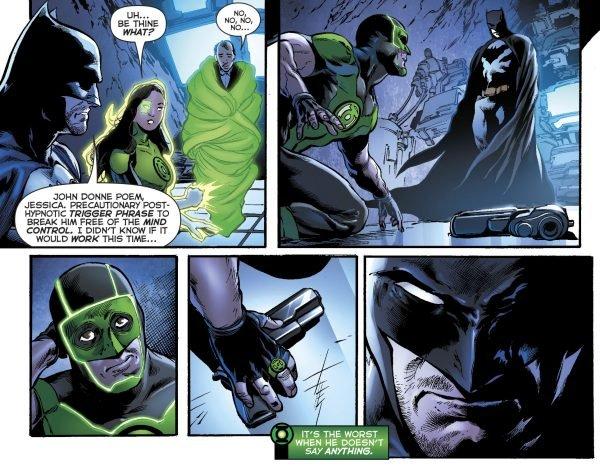 Зеленому фонарю больше не нужен пистолет, и все благодаря Бэтмену | Канобу - Изображение 11529