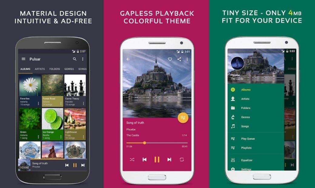 Аудиоплееры для Android - лучшие музыкальные плееры, бесплатные приложения для прослушивания музыки | Канобу - Изображение 2
