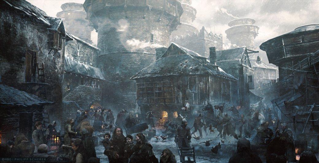 Художник выложил концепт-арты к8 сезону «Игры престолов». Иххоть сейчас ставь нарабочий стол | Канобу - Изображение 684