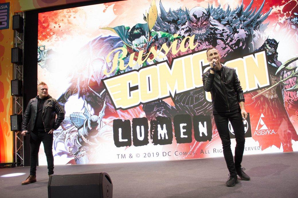 Миккельсен сКодзимой, Эндрю Скотт, клип Lumen поБэтмену. Comic Con Russia и«Игромир» 2019. День3 | Канобу - Изображение 0