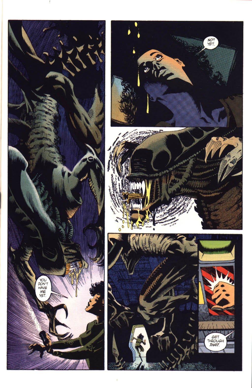 Жуткие комиксы про Чужих, откоторых кровь стынет вжилах   Канобу - Изображение 17