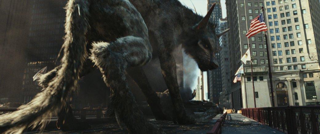 Огромные, жуткие животные иотважный Дуэйн Джонсон нановых кадрах фильма «Рэмпейдж». - Изображение 6