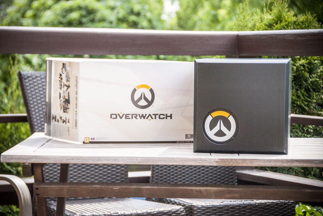 Распаковка коллекционного издания Overwatch | Канобу - Изображение 1