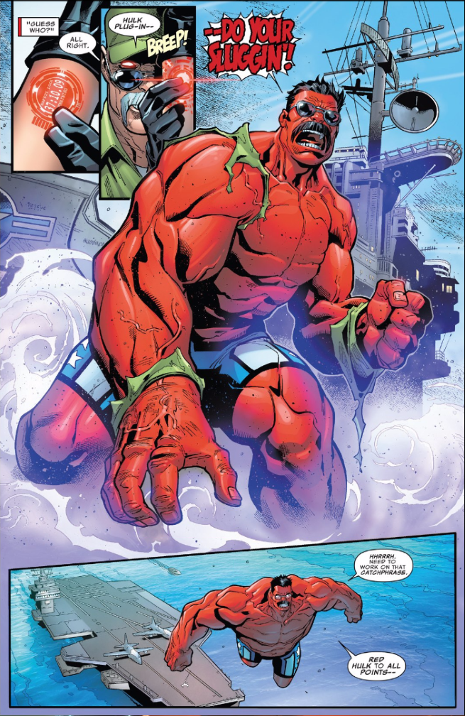 В комиксе U.S.Avengers представили нового Халка и Железного Человека   Канобу - Изображение 14583