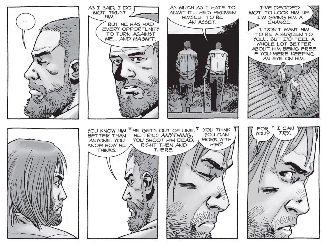 Война с Шепчущимися в комиксе The Walking Dead не оправдала ожиданий | Канобу - Изображение 6
