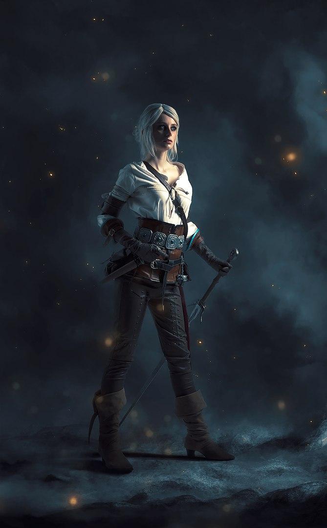 Косплей дня: ведьмачка Цири из серии игр The Witcher   Канобу - Изображение 6
