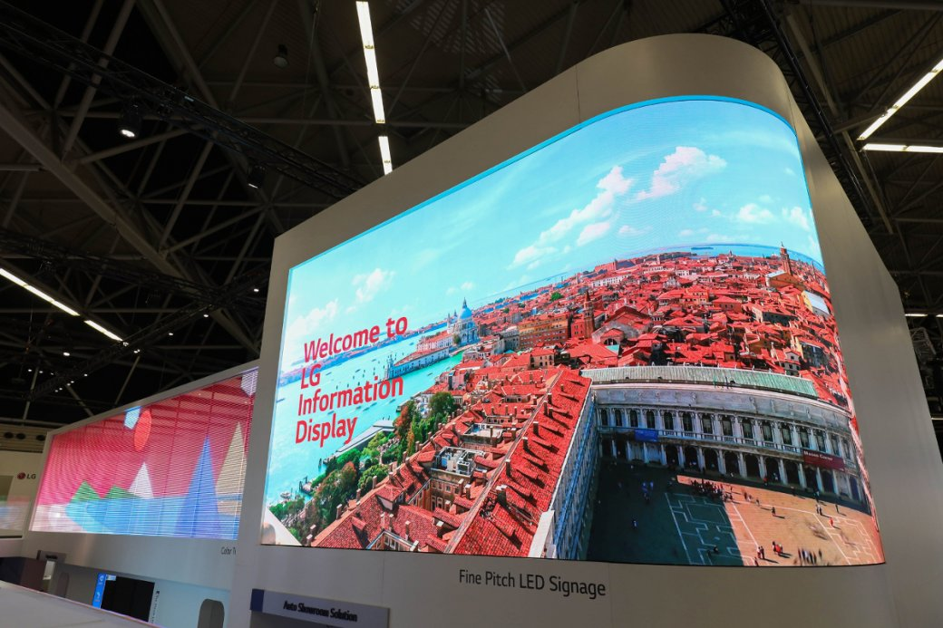 LG на выставке ISE 2019: передовые прозрачные экраны и стены из дисплеев  | Канобу - Изображение 2734