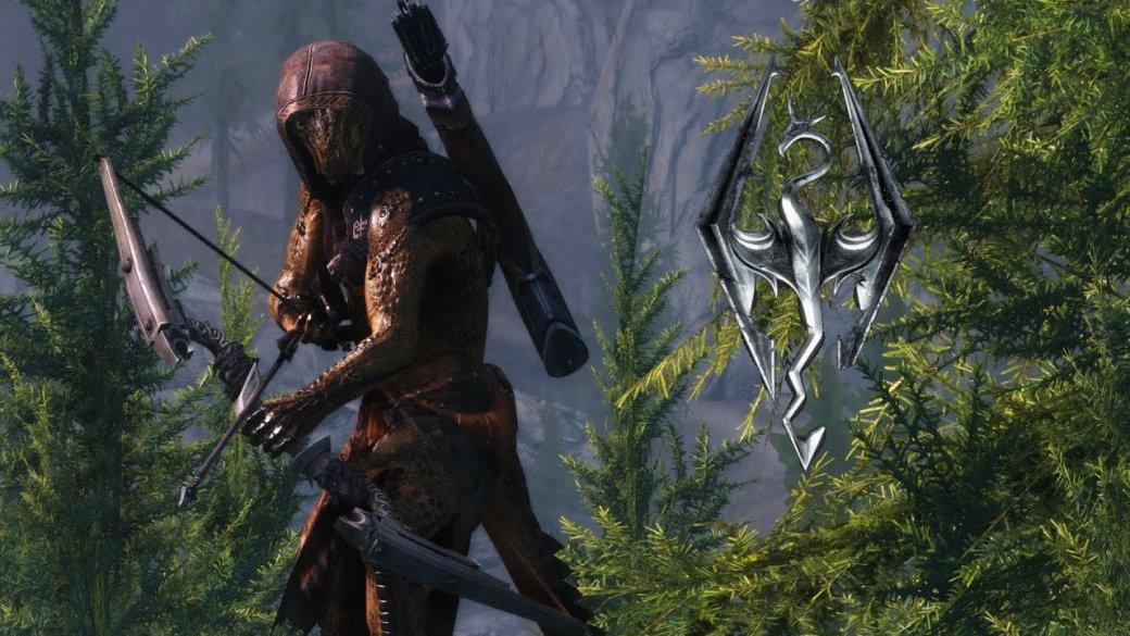 Контрмеры против лучника в The Elder Scrolls V: Skyrim. Гифка дня | Канобу - Изображение 1
