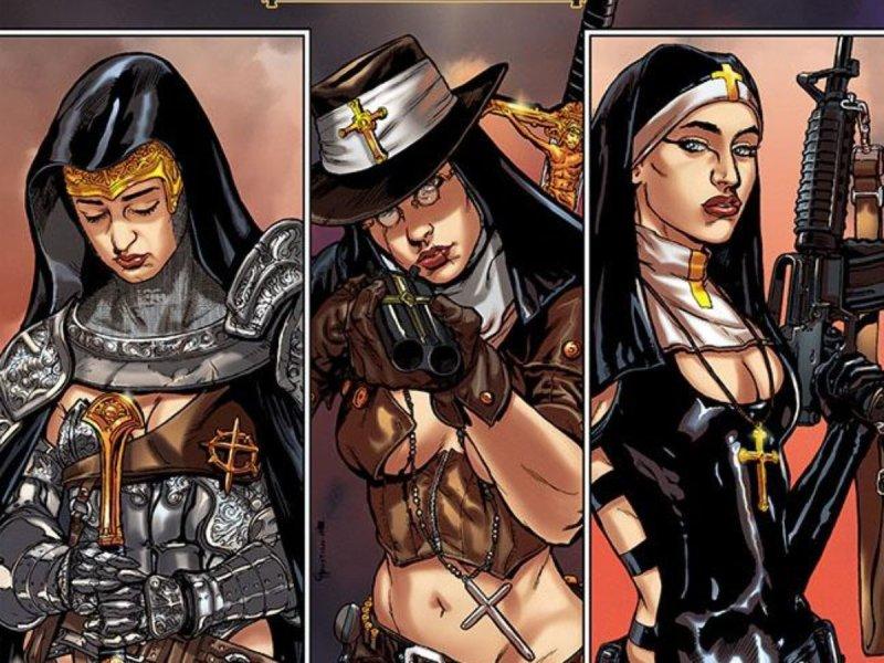 Как появились «Монахини-воины»