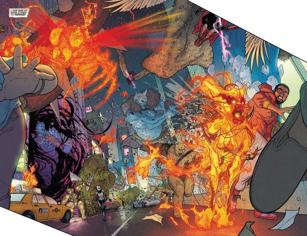Что нужно знать оThe War ofthe Realms— новом событии вкомиксах Marvel обитве заМидгард | Канобу - Изображение 2