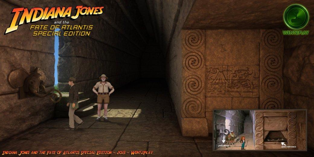 Lucasfilm попросила закрыть фанатский ремейк квеста про Индиану Джонса | Канобу - Изображение 11536