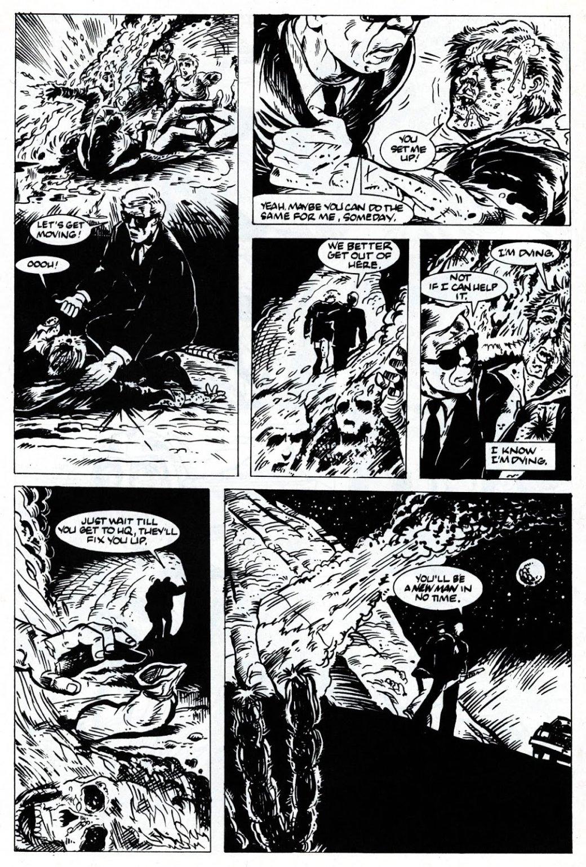 Каким был оригинальный комикс про Людей вчерном?