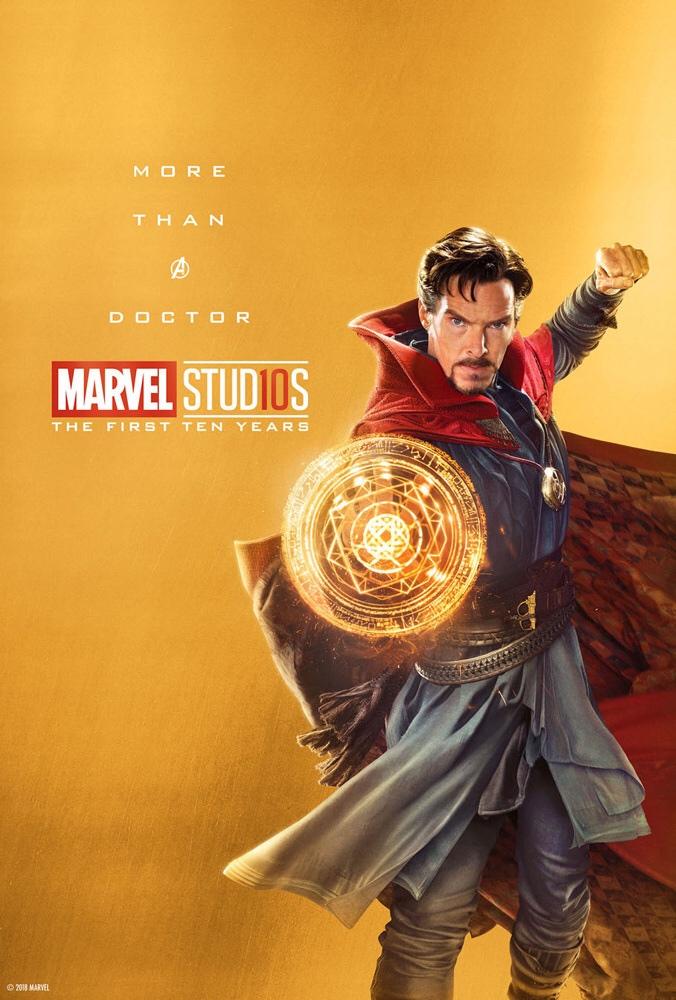«Больше, чем легендарный преступник». ВСети появились новые юбилейные постеры Marvel Studios | Канобу - Изображение 15