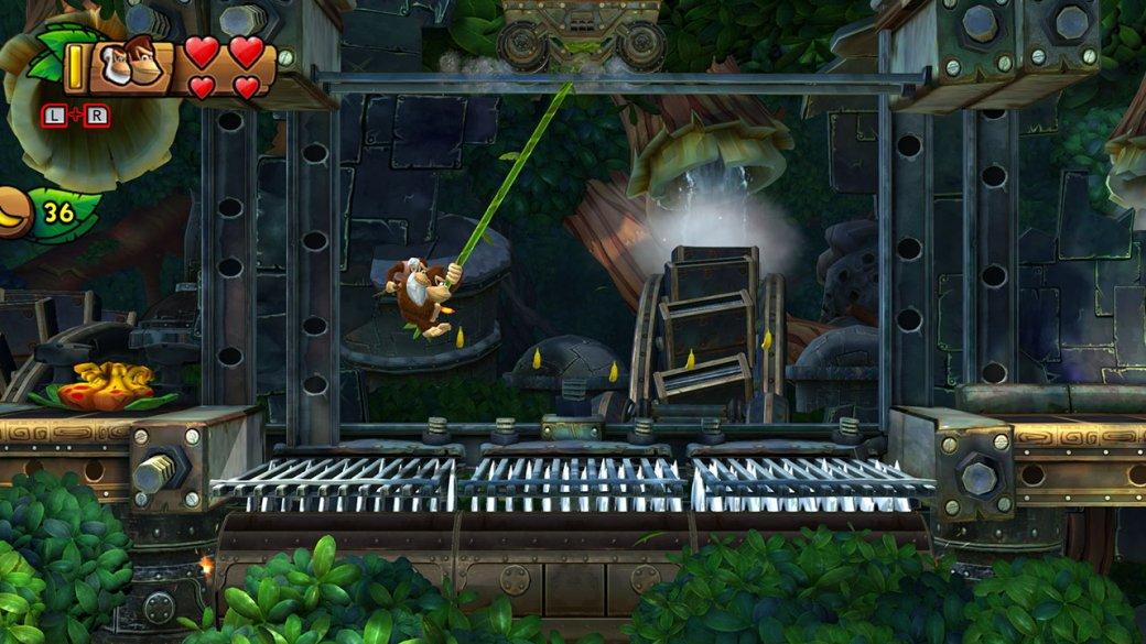 Donkey Kong Country: Tropical Freeze наSwitch —несовершенный, ноочень качественный платформер | Канобу - Изображение 6