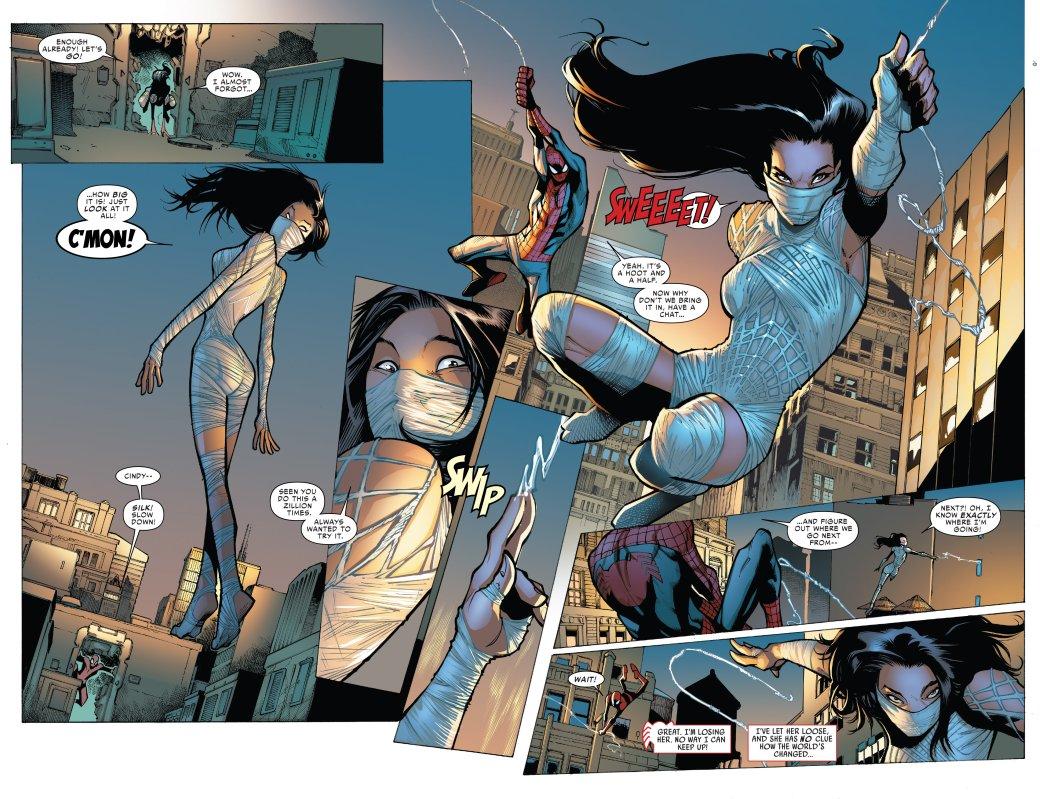 Что такое Spider-Verse? Кроссовер, где Человек-паук встретил безумные версии себя издругих миров | Канобу - Изображение 6