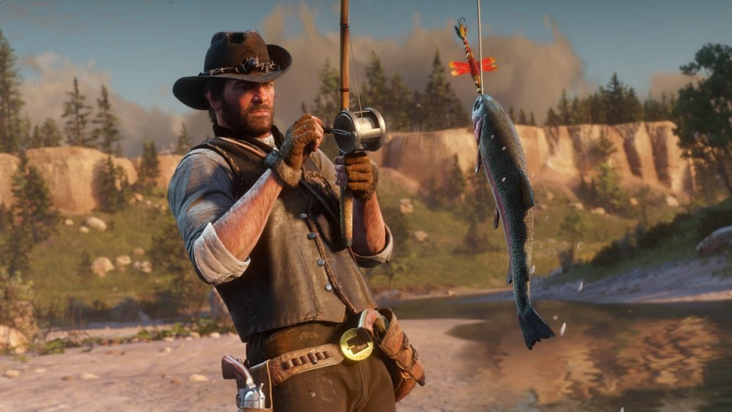 Гифка дня: несовсем подводный мир Red Dead Redemption2 | Канобу - Изображение 1095