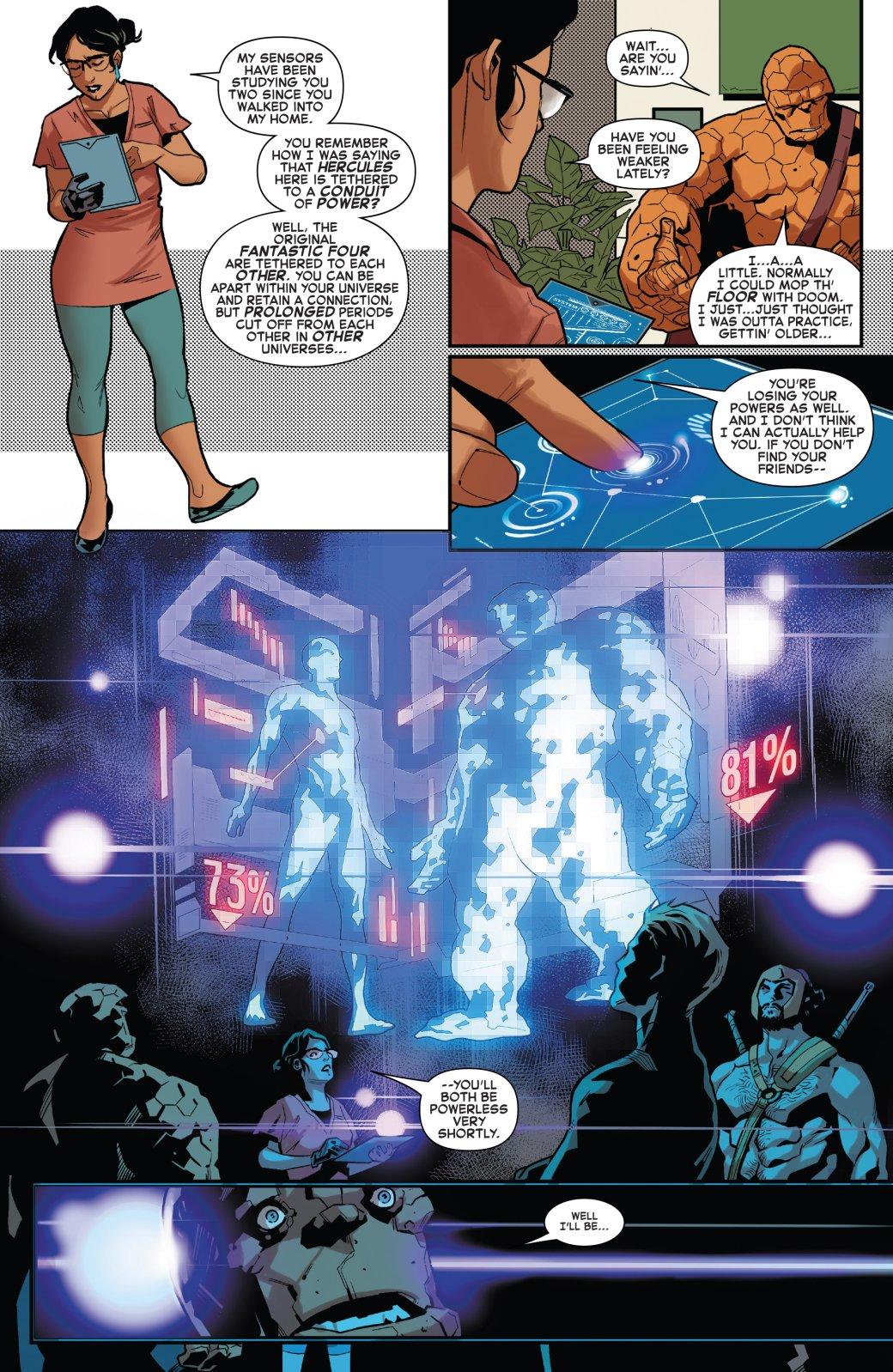 Издательство Marvel раскрыло важный секрет способностей Фантастической четверки. - Изображение 1