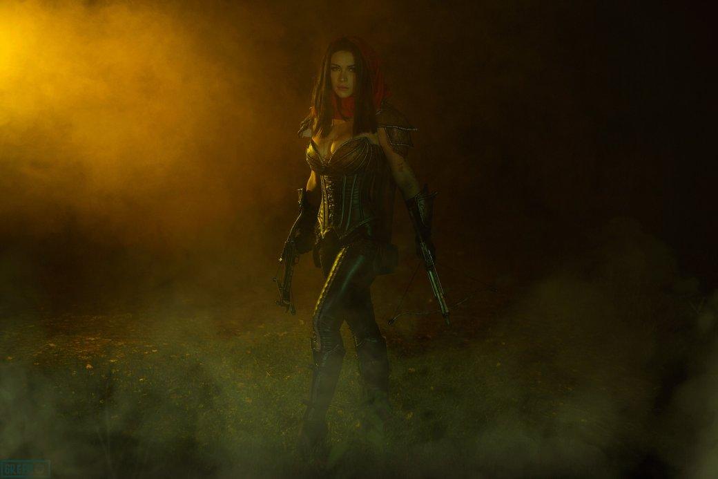 Горячий косплей Охотницы на демонов из Diablo III   Канобу - Изображение 4