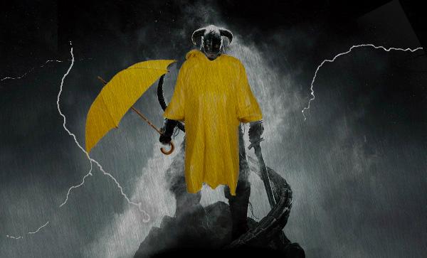 Ничего не видно! Энтузиаст сделал в Skyrim невероятно реалистичный ливень   Канобу - Изображение 242