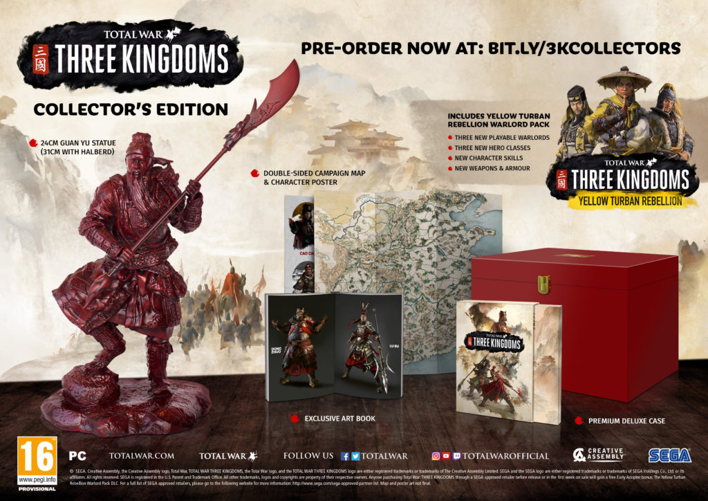 Разминаем стратегическую жилку: Total War: Three Kingdoms получила дату выхода | Канобу - Изображение 2