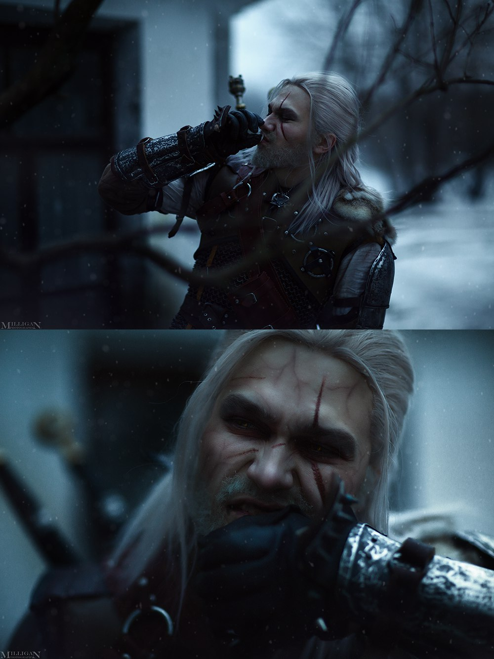 Геральт ибрукса вновом чудесном косплее по«Ведьмаку». - Изображение 7