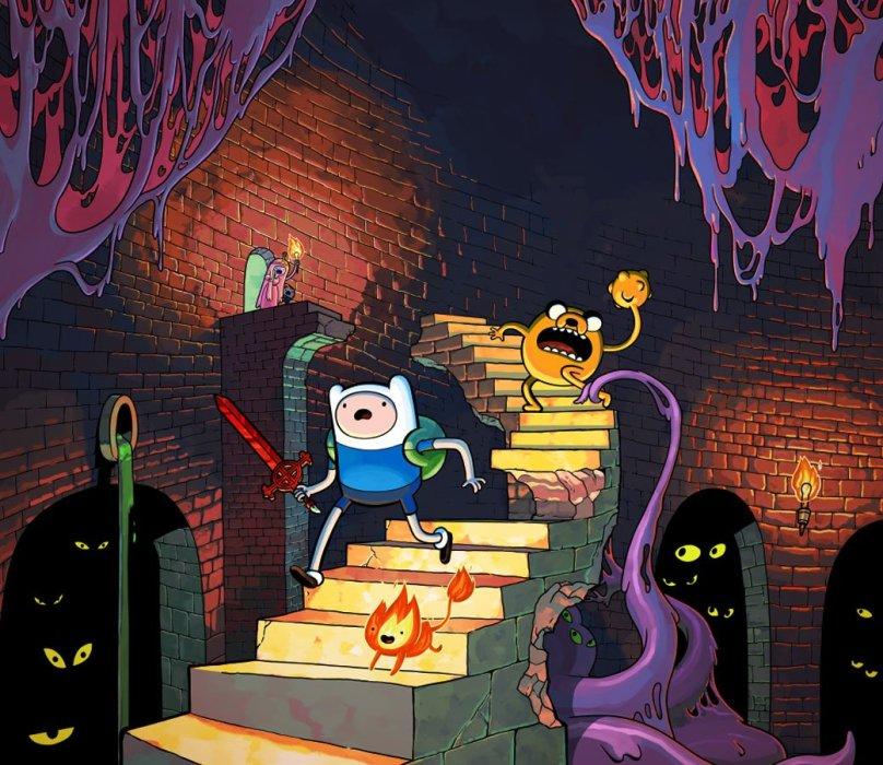 Обзор Adventure Time: Explore the Dungeon Because I DON'T KNOW! - рецензия на игру Adventure Time: Explore the Dungeon Because I DON'T KNOW! | Рецензии | Канобу