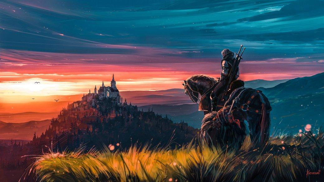 Галерея. Крутейший фанарт по«Ведьмаку», откоторого сразуже хочется перепройти трилогию игр | Канобу - Изображение 6268