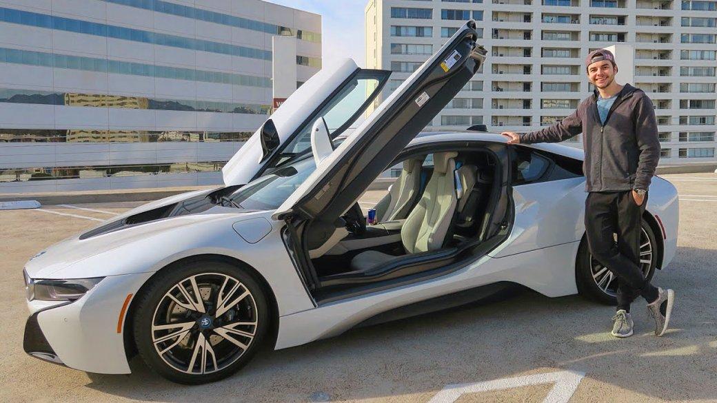 Автомобили киберспортсменов | Канобу