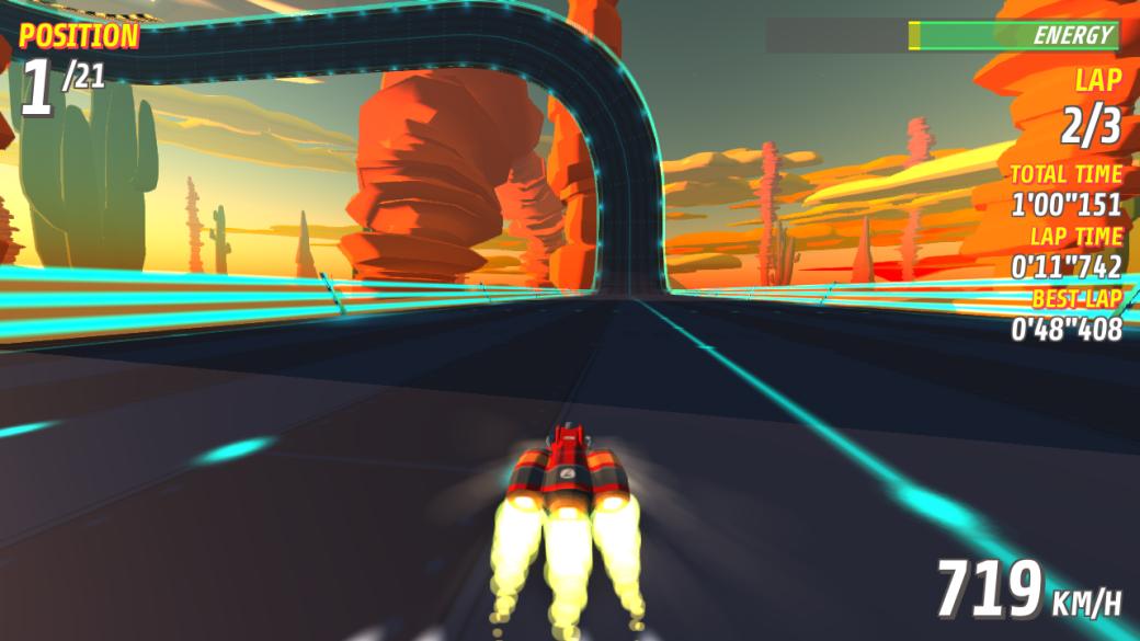 Вдемо Super Pilot уже можно создать свой трек вдухе F-Zero иWipEout | Канобу - Изображение 12641