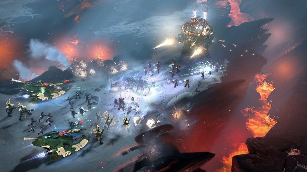 30 главных игр 2017 года. Warhammer 40.000: Dawn ofWar 3— это RTS или MOBA?. - Изображение 3