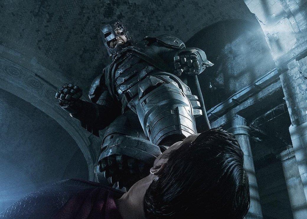 Batman vs superma