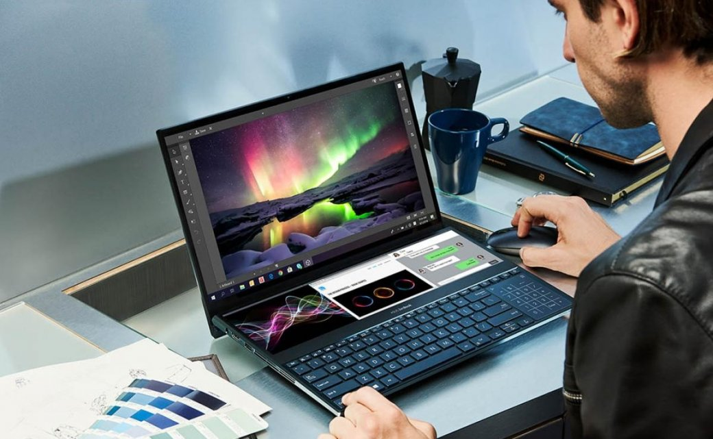 Asus ZenBook Pro Duo: фантастический ноутбук сдвумя 4K-дисплеями | Канобу - Изображение 1