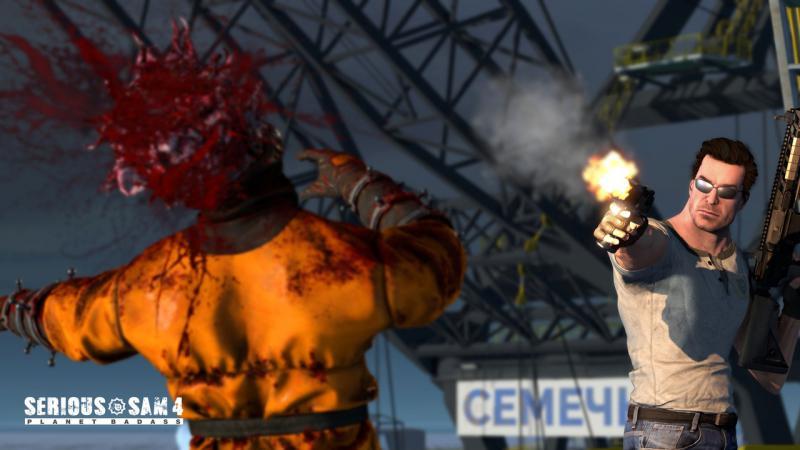 СЕМЕЧКИ на новых скриншотах Serious Sam 4: Planet Badass. Сэм заглянет в наши края?. - Изображение 2