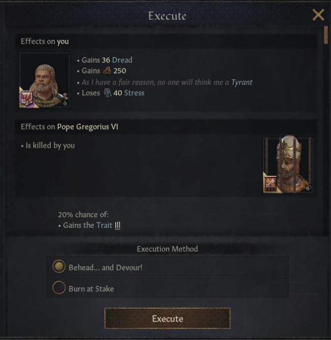 Игрок смог съесть папу римского вCrusader Kings3 | Канобу - Изображение 200